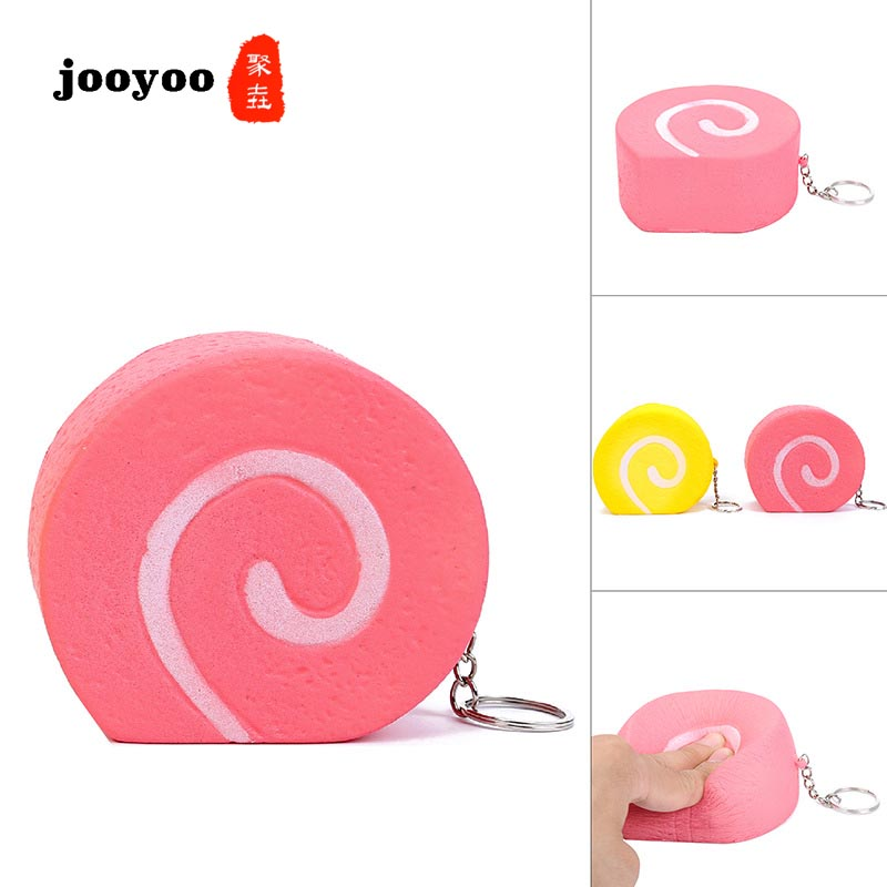 Simulation Loaf Roll Model Slow Rebound Resin Extrusion Venting Toy Jooyoo