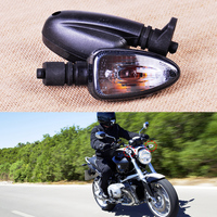 2pcs Pair Smoke Color Turn Signal Indicator Lamp Light Fit For Motorcycle BMW R1200GS F800S K1200S