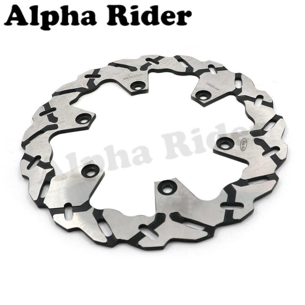 1 Pcs Motorcycle Rear Brake Rotor Disc Braking Disk for Yamaha XP 500 T-MAX 2001-2011 XP500 TMAX ABS 2008-2011 1 pcs motorcycle rear brake rotor disc steel braking disk for honda cbr1100xx 1997 2004 xlv1000 varadero abs 2004 2007 2010 2011