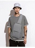 IPAD Messenger Bag Men Oxford Cloth Multipurpose Chest Pack Sling Shoulder Bags For Men Casual Crossbody