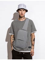 IPAD Messenger Bag Men Oxford Cloth Multipurpose Chest Pack Sling Shoulder Bags For Men Casual Crossbody