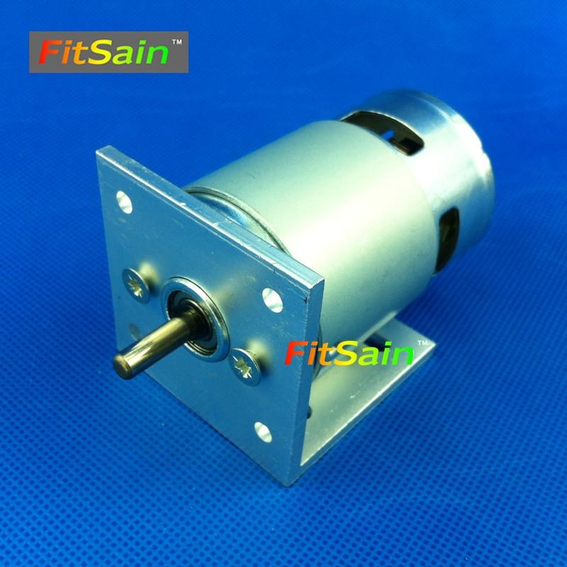 FitSain - 24 V 8000rpm 775 motor Kettős golyóscsapágyú mini pcb - Elektromos kéziszerszámok - Fénykép 2