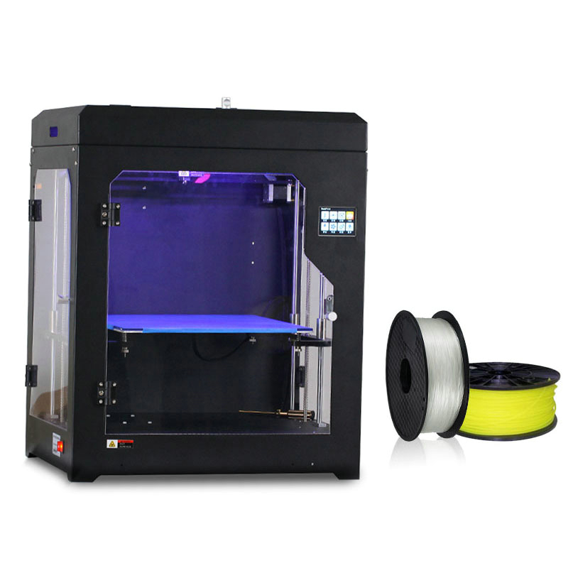 Best Plastic Pla Abs Fila 3d Printing Controller Panel Multi Filament Single Dual Extruder DIY Impressora Desktop 3d Printer xinkebot 3d printer orca2 cygnus dual extruder high resolution big impressora 3d with free filament