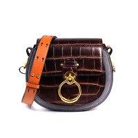 Ретро пояса из натуральной кожи сумка Роскошные сумки для женщин дизайнер мини через плечо сумка через плечо, кошельки и