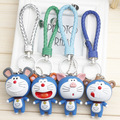 New Arrival Doraemon Doll Twelve Chinese Zodiac Signs Pattern Keychain Excellent Birthday Gift Fit For Bag Charms