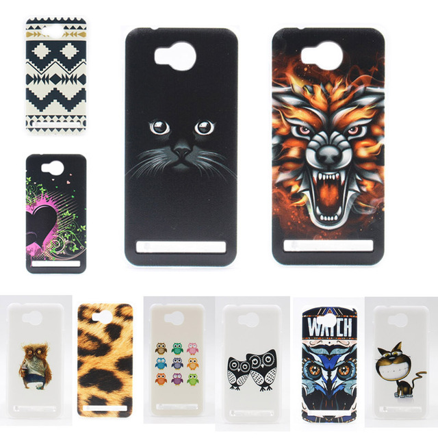 official photos 75cf2 afa96 US $1.92 |For Huawei Y3ii Y3 II Case Cover Coloured Drawing Plastic Hard  Protective Back Cover Case For Huawei Y3II Y3 II 2 Phone Cases-in Fitted ...