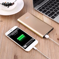 Aigo 10000mAh Portable Power Bank Charger Backup External Battery Pack For Smartphones Tablet PC Dual USB