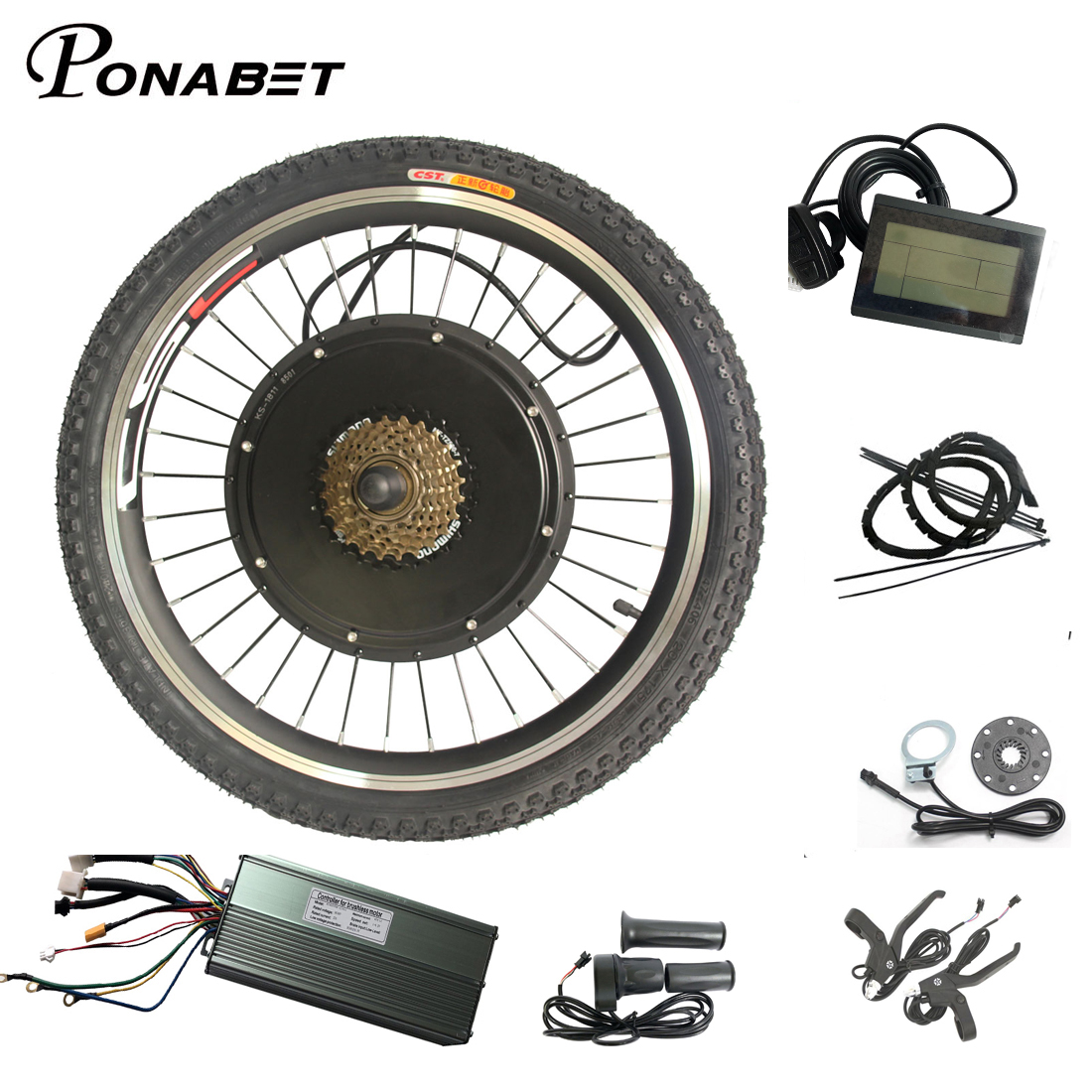 Ebike Electric bike conversion kit Rear Wheel 20 24 26 27 5 27 28 29 700C