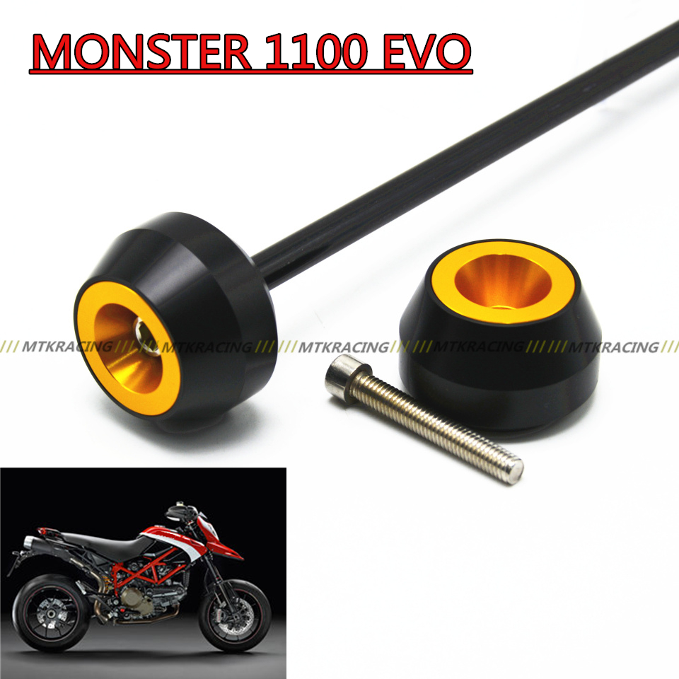 Free shipping for DUCATI MONSTER 1100 EVO 2011-2013 CNC Modified Motorcycle drop ball / shock absorber shock absorber ad2580 absorber buffer bumper free shipping
