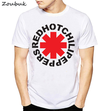 eb5c8d8ab Red Hot Chili Peppers Distressed Asterisk T Shirt Men RHCP Shirt Tee men's  Graphic Rock Brand tshirt Hombre nk Punk Rap Tees & T