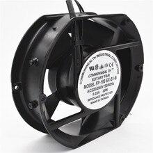 Осевой вентилятор FP-108EX-S1-B 220 В 38 Вт двойной подшипник вентилятор охлаждения Овальный 172x150x51 мм