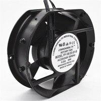 Axial Fan FP 108EX S1 B 220V 38W Dual Bearing Cooling Fan Oval 172x150x51mm Blowers     -