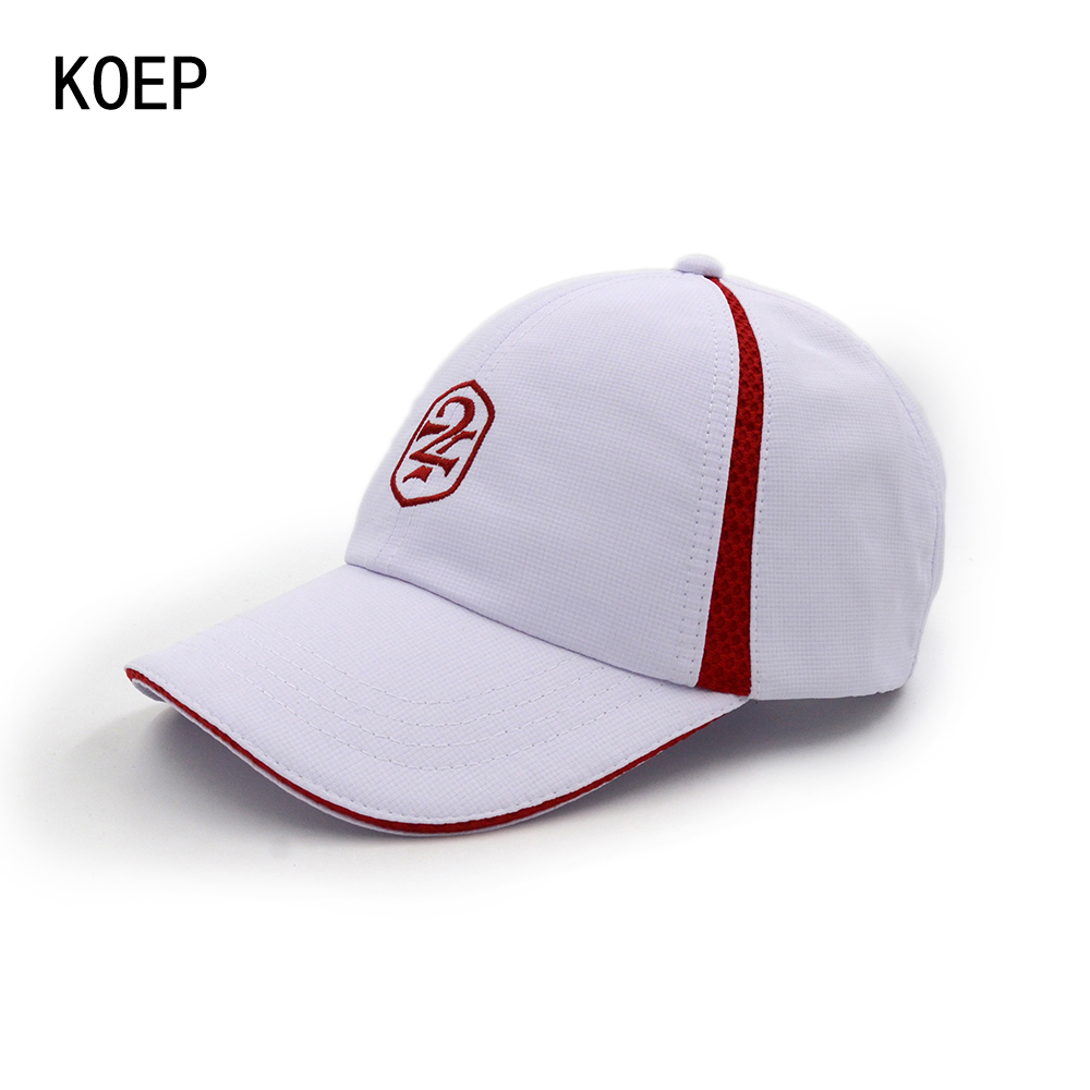 KOEP Unisex Summer Breathable Fashion White Baseball Cap Hat For Women Men Snapback Hat Fashion Letter 27 Sport Casquette Gorras fashion solid color baseball cap for men and women