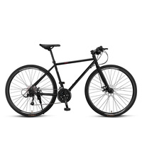 Road Bicycle Racing Ultra Light Race 700c Variable Speed Disc Brake Breaking Wind Adult Single Word Micro Change Carbon Steell