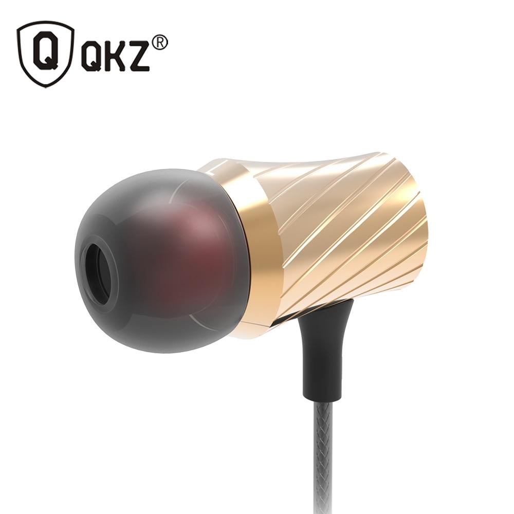Headset and Earphones 100% Original QKZ DM3 Luxury Stereo Earphone Headset 3.5mm In Ear Earphone For Phone fone de ouvido factory price led luminous in ear earphone glow stereo fone de ouvido headset for iphone drop shipping binmer