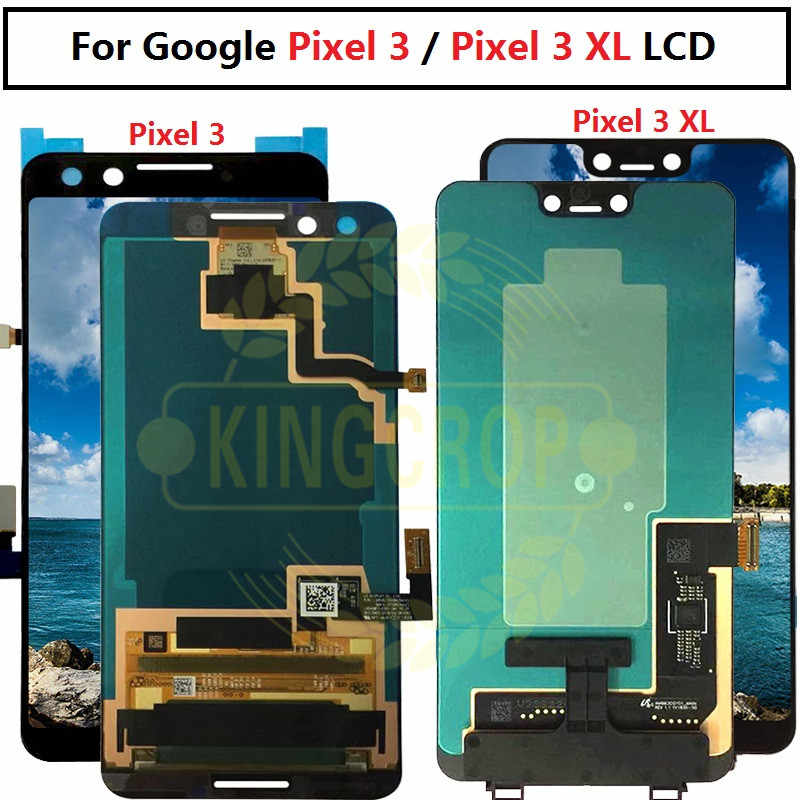 "For Google Pixel 3 LCD Screen Touch Screen Digitizer Assembly 5.5"" Google Pixel 3XL LCD Screen For Google Pixel 3 XL LCD"