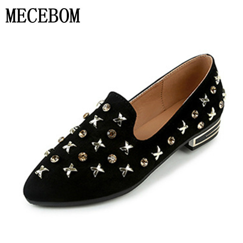 2017 Fashion Women flat shoes spring autumn Comfortable Handmade Soft Leather Ladies Shoes pedal flat casual lazy loafers 1343W hevxm 2017 spring new ladies fashion casual flat bottom high white shoes women hollow comfortable breathable embroidered shoes