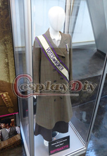 Movie Suffragette Edith Ellyn Helena Bonham Carter Cosplay Costume Adult Women's Outfit D1202