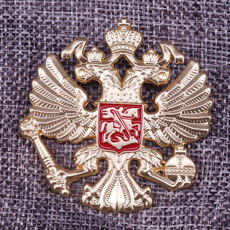 Russische Eagles Badge Emaille Pin