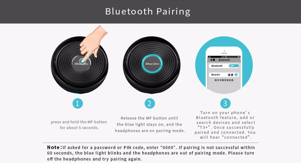 Bluedio T3 Plus Wireless Bluetooth Headphones Bluedio T3 Plus Wireless Bluetooth Headphones HTB1pVwJbRUSMeJjSszcq6znwVXau