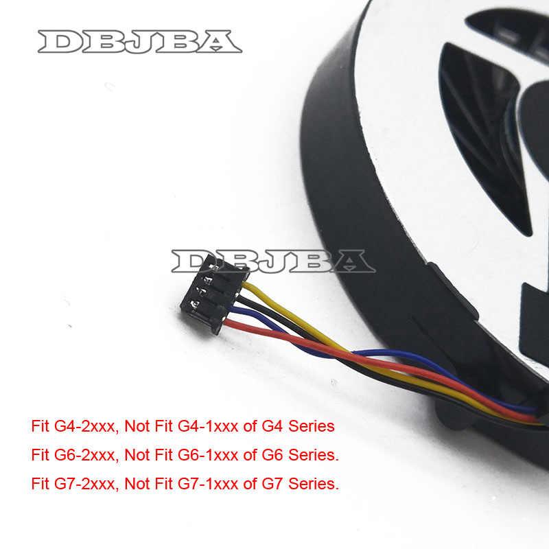 Ventilador de refrigeración para portátil para HP pabellón G4-2000 G7 g7-2000 G6 G6-2000 G4-2320TX G7-2240US G4 2301TX 2318TX 2226TX FAR3300EPA