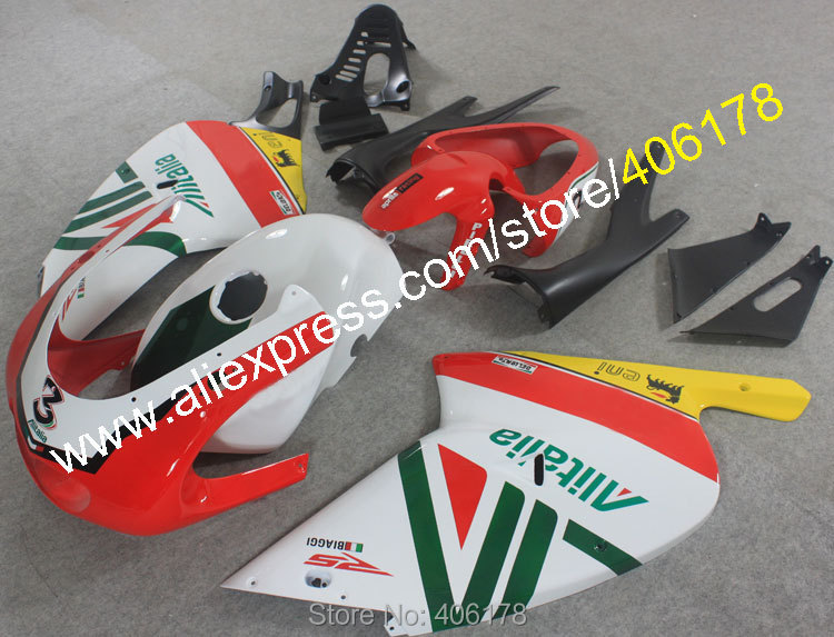Hot Sales,RS125 Body Kit For Aprilia RS125 2001 2002 2003 2004 2005 RS 125 Classic Motorcycle Fairings Moto Accessories