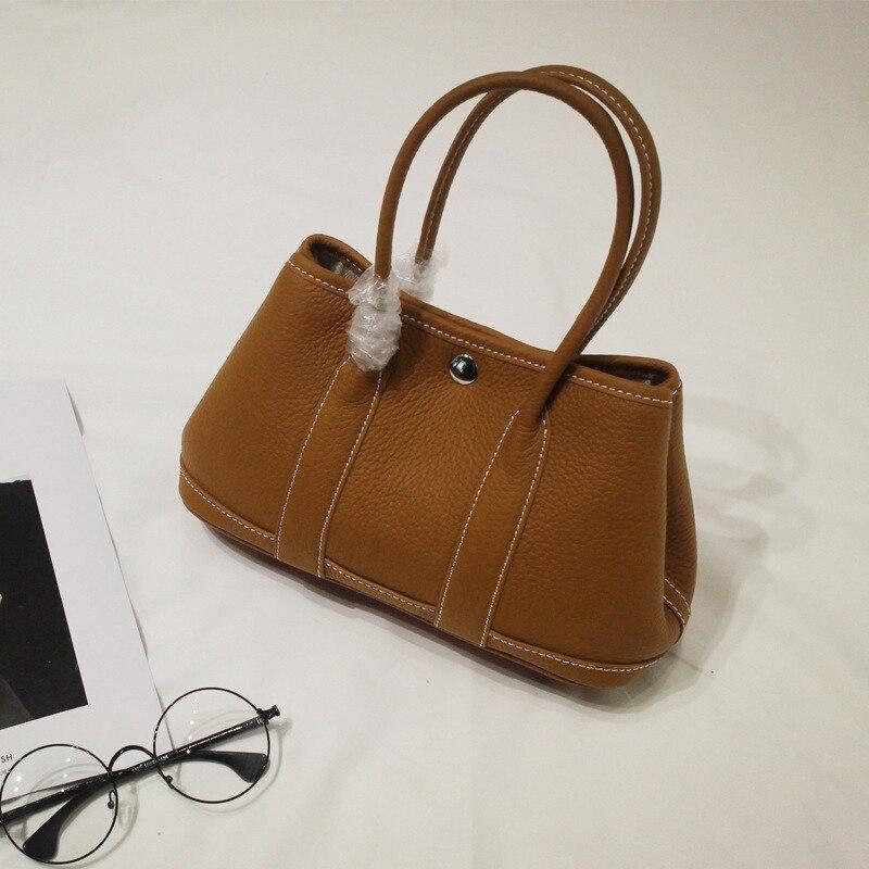 ФОТО 2017 New High Quality Leather Shell Handbag Women's Brand Designer Shoulder Bag 100% Genuine Cow Leather Bag For Ladies Handbags