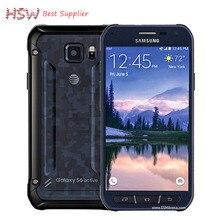 "100% D'origine Samsung Galaxy S6 Active G890a de G890 Téléphone Portable Octa Core 16MP Caméra 3 GB RAM 32 GB ROM 5.1 ""pouces Android 5.0"