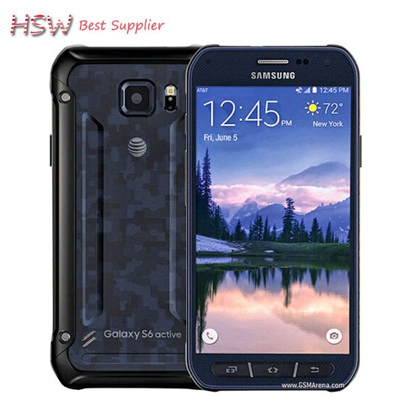 100% Original Samsung Galaxy S6 Active G890a G890 <font><b>CellPhone</b></font> Octa Core <font><b>16MP</b></font> Camera 3GB RAM 32GB ROM 5.1&#8243; inch Android 5.0