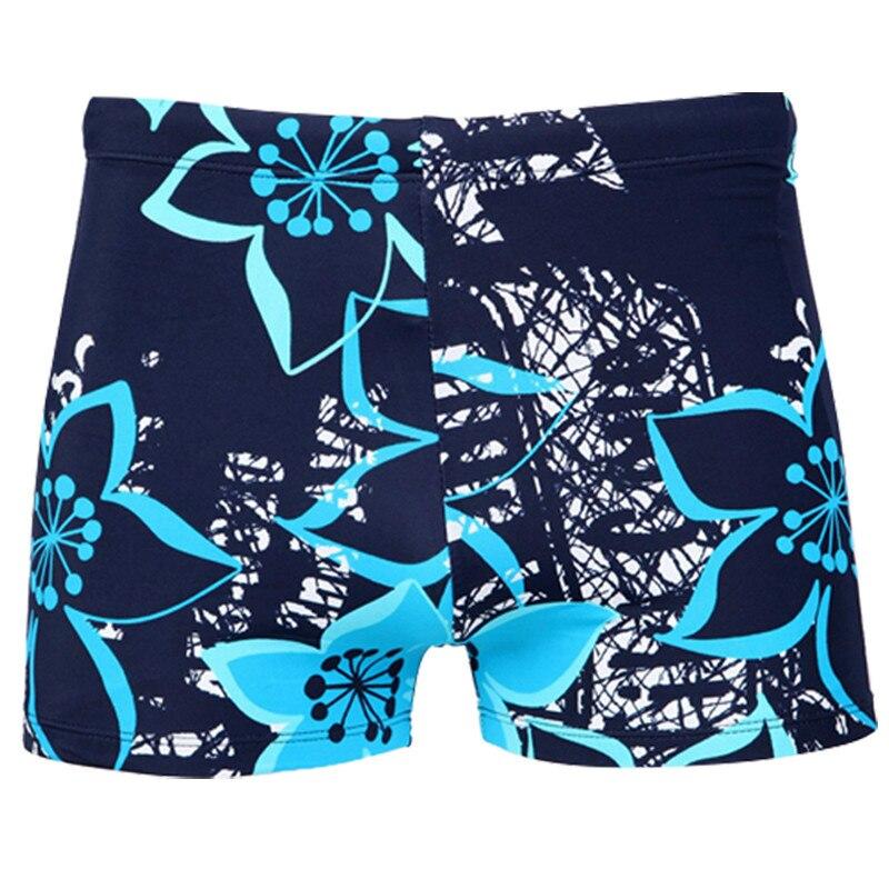Eastern Tribe Themed Circular Flower Mens Summer Beachwear Sports Running Swim Board Shorts Mesh Lining
