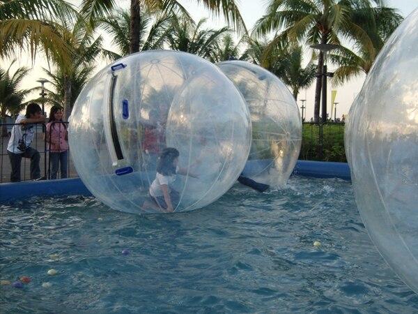 water walker ball inflatable bumper ball,balls grow in water,crazy water balls