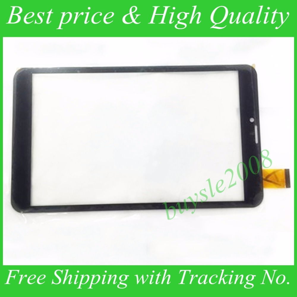 For TEXET TM-8044 8.0 3G Tablet Capacitive Touch Screen 8 inch PC Touch Panel Digitizer Glass MID Sensor Free Shipping 8 inch tablet pc touch screen zyd080 64v01 handwritten capacitive screen outside the screen 10pcs