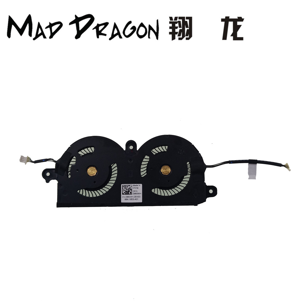 NEW Original For Dell XPS 13 9370 CPU Cooling cooler Fan CN 0980WH