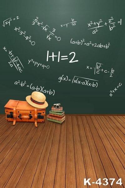 Σχολείο Θέματα Backdrops Blackboard Για Photo Studio - Κάμερα και φωτογραφία - Φωτογραφία 1