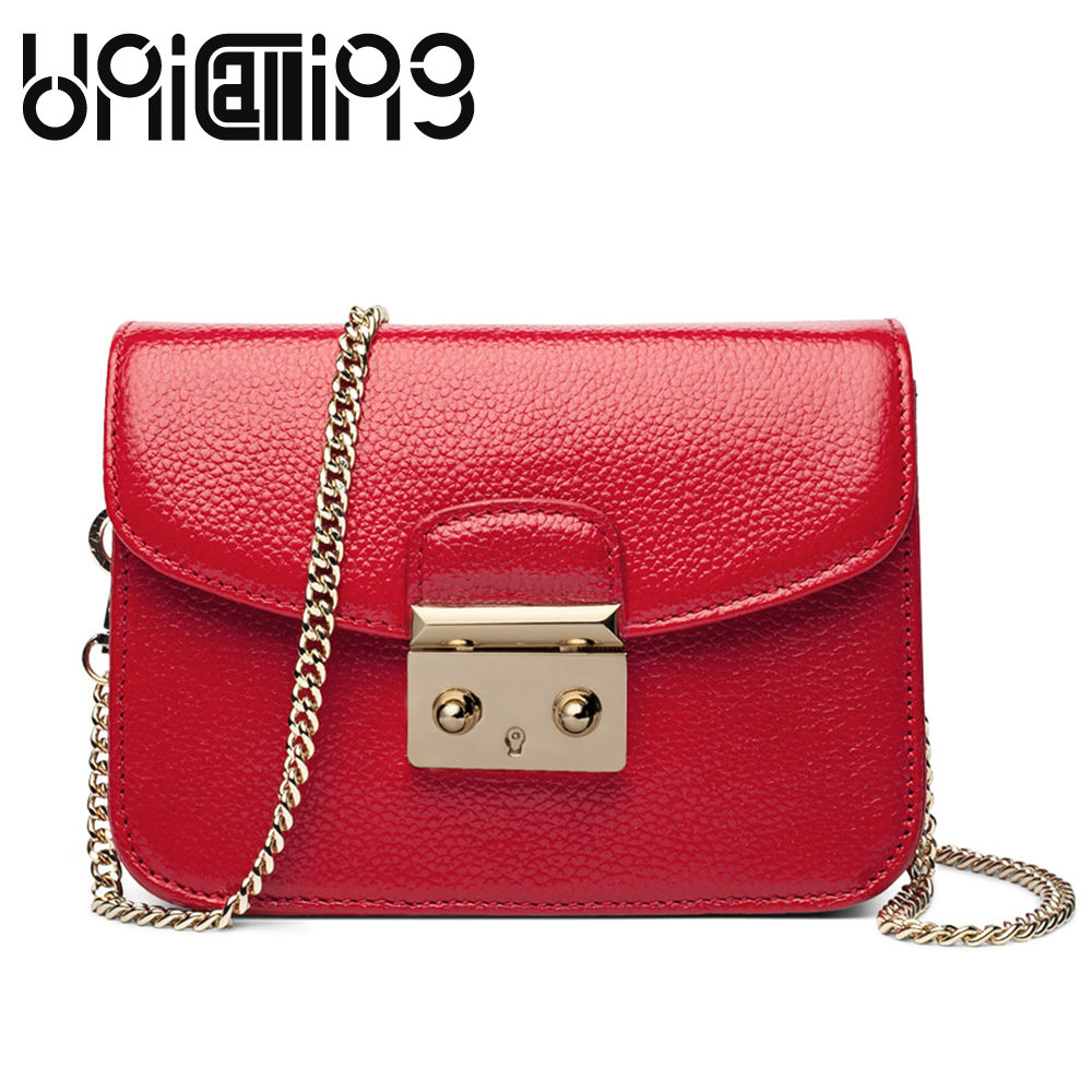 New style fashion women bag Top grade All-match solid color mini Chain genuine leather small crossbody  shoulder bags fashion split leather women messenger bags tassel rivet luxury small shoulder bags solid color retro top grade mini saddle bag