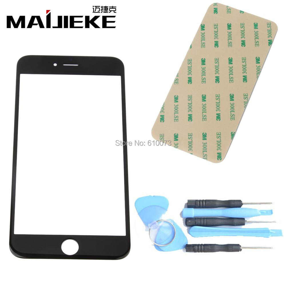 MAIJIEKE A+ Outer Glass For iPhone 7 6s 6 plus 5 5c 5s Front Glass Screen Digitizer lens Replacement Repair kit+Adhesive+ToolsMAIJIEKE A+ Outer Glass For iPhone 7 6s 6 plus 5 5c 5s Front Glass Screen Digitizer lens Replacement Repair kit+Adhesive+Tools