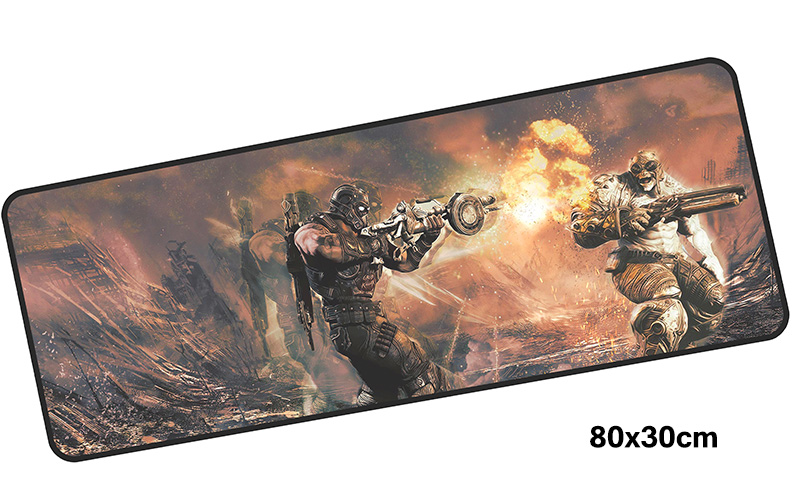 gears of war mousepad gamer 800x300X3MM gaming mouse pad large Gorgeous notebook pc accessories laptop padmouse ergonomic mat