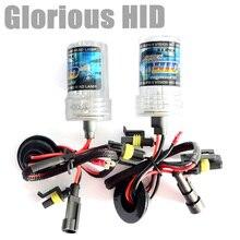 2pcs 35W xenon bulb HID replacement H1 H3 H4 H7 H8 9005 HB4 9006 881 H27 lamp 4300k 6000k 8000k light for car light source