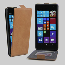 For Microsoft Lumia 535 Vintage Flip Wallet PU Leather Mobile Phone Cover Case For Nokia Lumia 535 With Card Frame Stand Holder