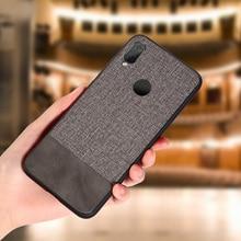 KISSCASE étui en cuir tissu pour Xiaomi Redmi K20 Mi 9T 9 8 SE A1 A2 Lite Pocophone F1 Redmi Note 8 7 6 Pro 4 4X couverture arrière Funda
