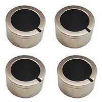 MENSI Gas Range Stove replamento partes temperatura control perilla interruptor rotatorio con niquelado 4 unids/lote