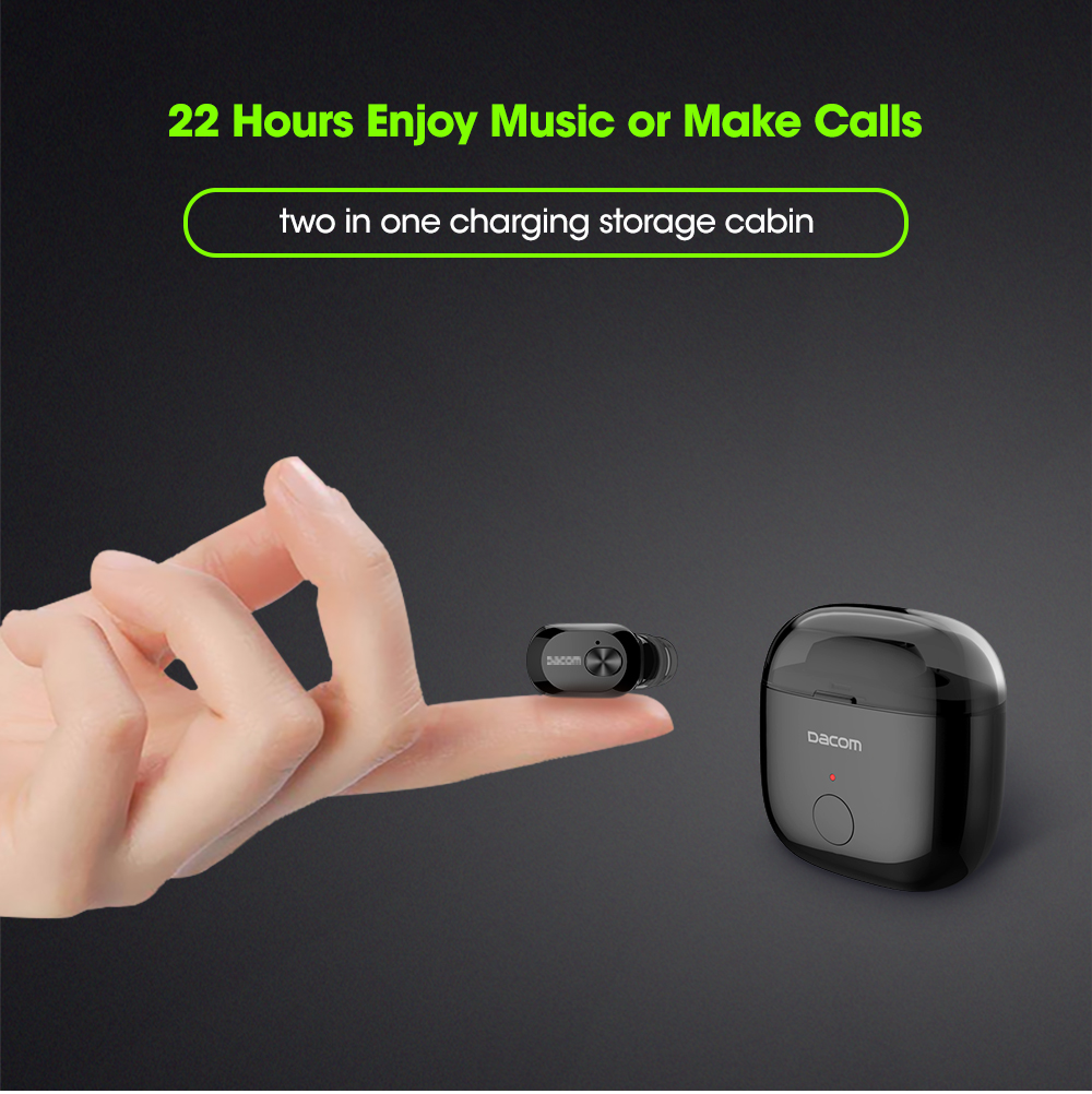 Mini Smart Wireless Bluetooth Earbuds Earpiece Headset  Earphones 10
