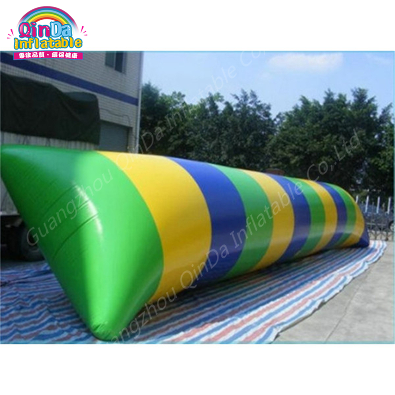 8m*3m Inflatable Blob Jumping Pillow, Water Catapult Blob Water Pillow/Inflatable Jumping Air Bag With Free Air Pump funny summer inflatable water games inflatable bounce water slide with stairs and blowers