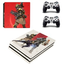 Game APEX Legends PS4 Pro Skin Sticker For Sony PlayStation 4 Pro Console and Controller PS4 Pro Sticker Decal