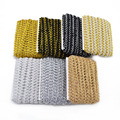 5 м/лот, кружевная отделка, ткань для шитья, кружево золотого и серебряного цвета, многоножка, плетеная кружевная лента, изогнутое кружево, сд...