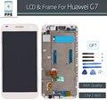 Para huawei acsend g7 display lcd touch screen digitador com substituição de montagem bastidor frete grátis + ferramentas