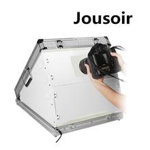 LED  Day Light Build-in Portable Photo Lighting Case Foldable Mini Studio Box For Photography CD15