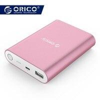 ORICO Q1 QC2.0 Power Bank Aluminum 10400mAh Quick Charger 5V2A / 9V1.8A / 12V1.5A Portable and Universal