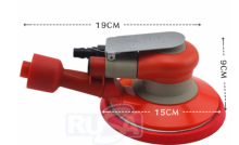 New 20327 Random Orbital Sander Self-Generated Vacuum 6 Tool Diameter x 3/16