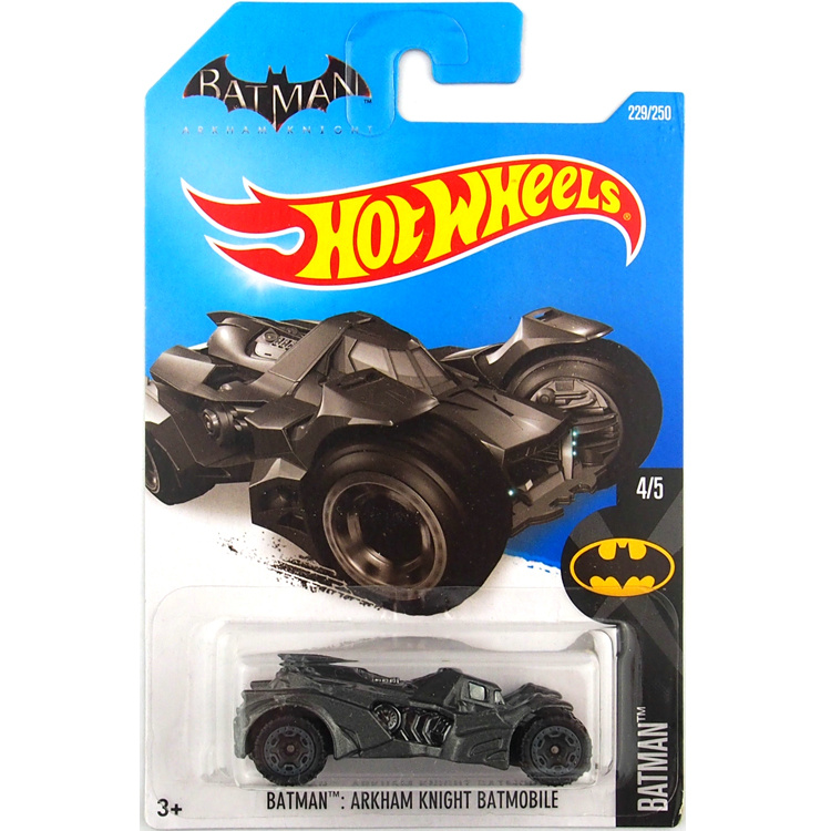 Hot Wheels 1:64 Car BATMAN ARKHAM KNIGHT BATMOBILE Collector Edition Metal Diecast Cars Collection Kids Toys Vehicle For Gift
